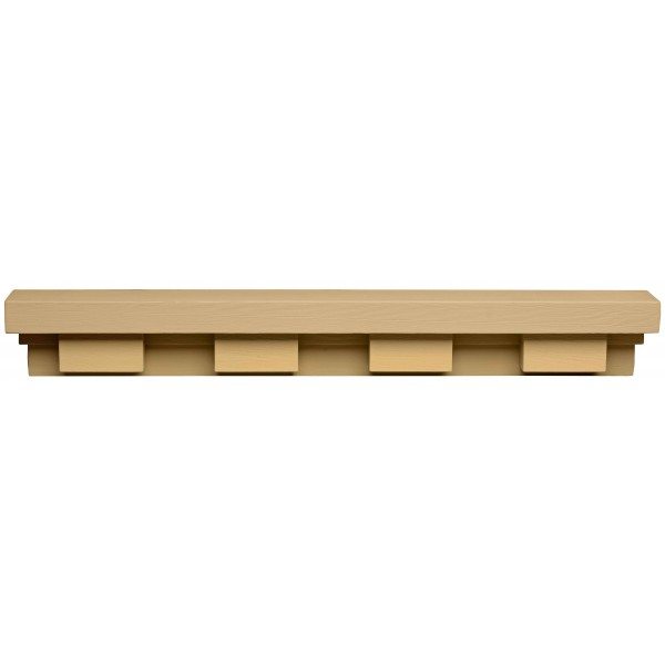 Dentil Shelf: Fir Grain