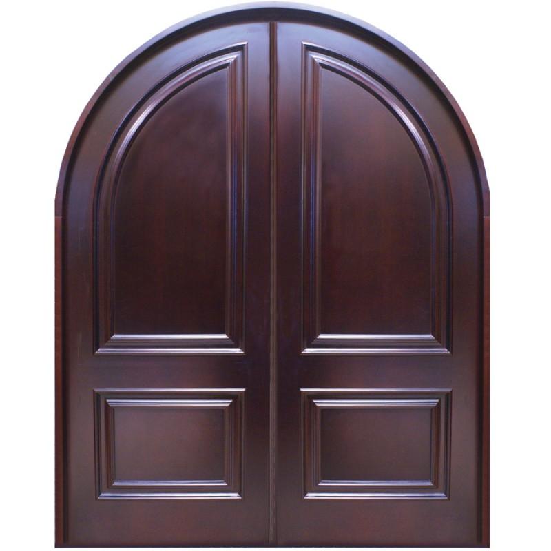 rouge solid wood modern door